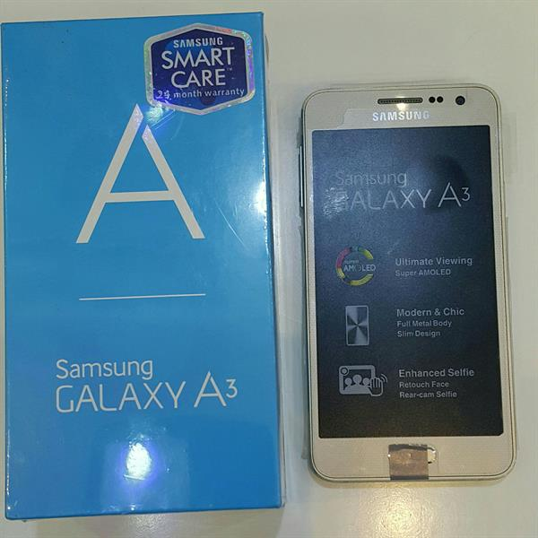 Used Samsung A3 .New never use With One Year Warranty.  in Dubai, UAE