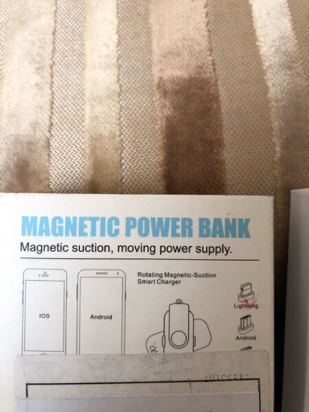 Used Magnetic power bank IOS&Android in Dubai, UAE