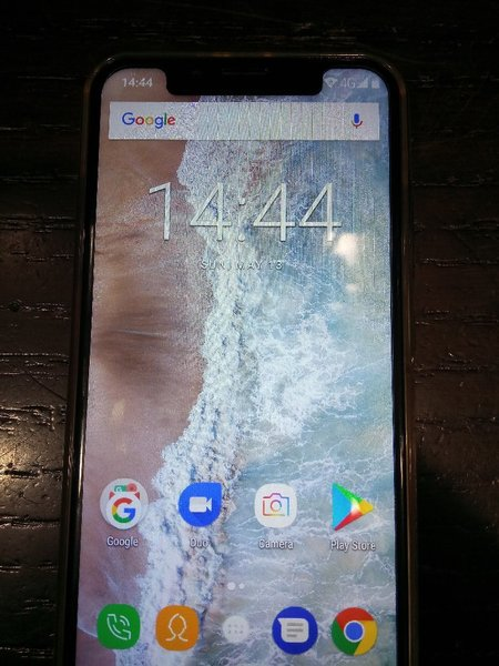Used Oukitel phone 64gb 4gb ram 4000mah batte in Dubai, UAE