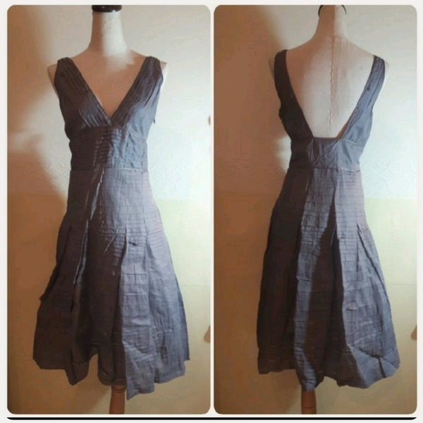Used Brand new grey Dress Italian Brand in Dubai, UAE