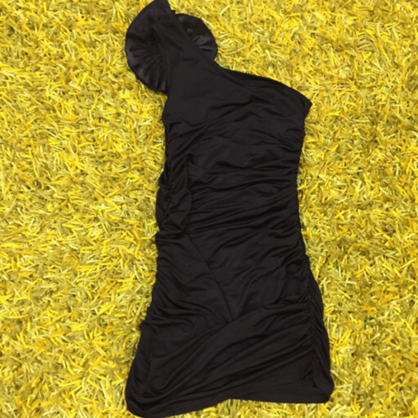 Used BLACK COCKTAIL DRESS in Dubai, UAE