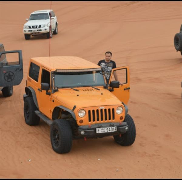 Used Jeep Wrangler Sahara. GCC. AUTO in Dubai, UAE