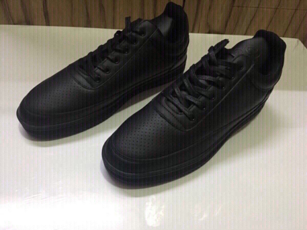 Used Men's shoes size 44 brand Spanning in Dubai, UAE
