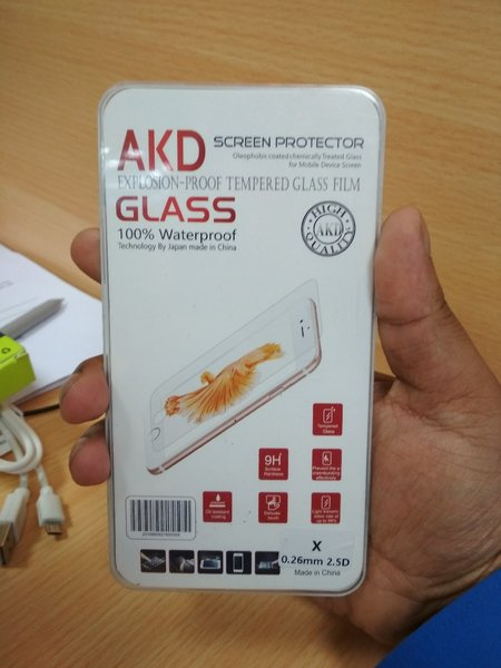 Used Tempered Glass for iPhone X in Dubai, UAE