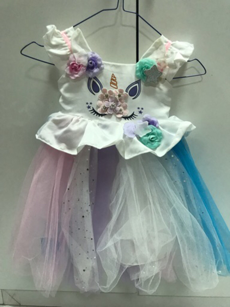 Used 1st birthday dress for 90dhs in Dubai, UAE