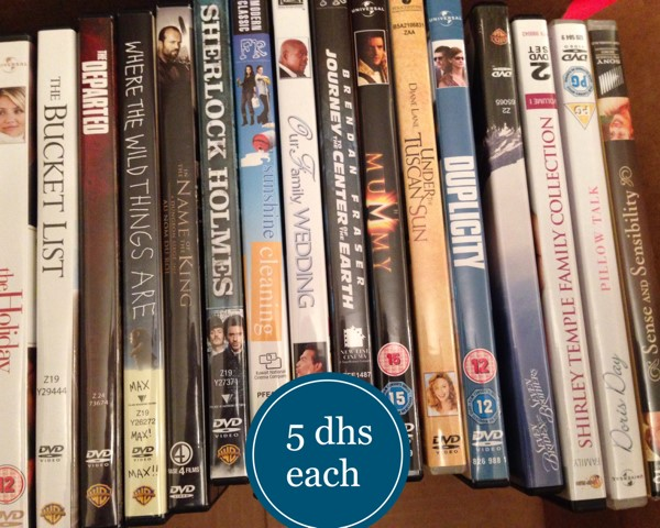 Used Movie DVD  Comedy/Action/Romance in Dubai, UAE
