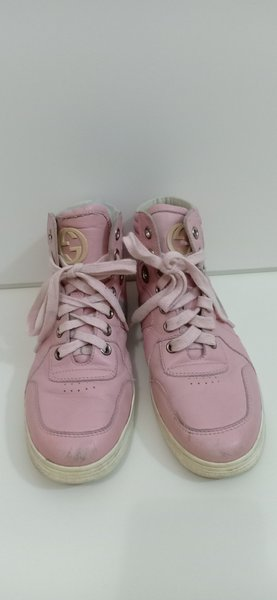 Used Gucci Authentic Girl's Pink Shoes in Dubai, UAE