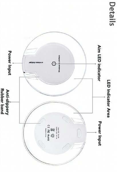 Used Wireless Charger Universal + Qi Receiver in Dubai, UAE