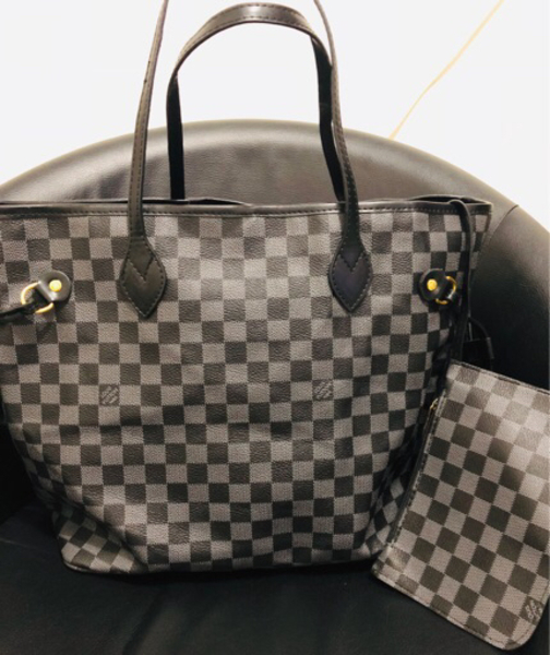 Used Louis Vuitton Neverfull Damier in Dubai, UAE
