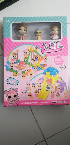 Used LOL SURPRIZE AMUSEMENT PARK SET in Dubai, UAE