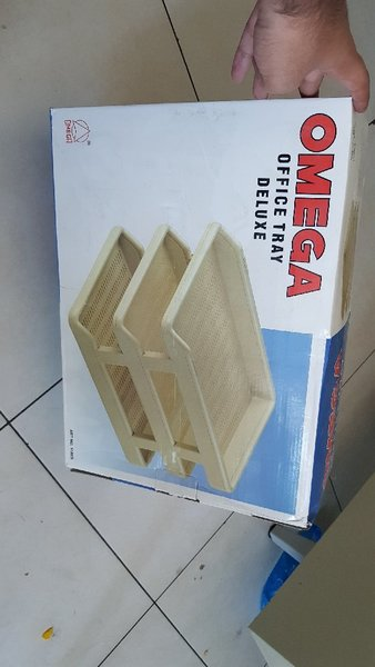 Used OMEGA office tray DELUXE: 3 layers in Dubai, UAE