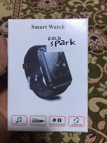 Used Gold spark smart watch in Dubai, UAE