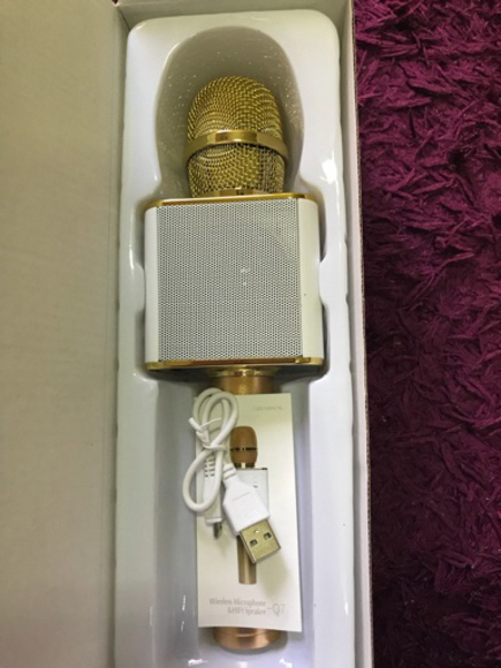 Used Wireless Bluetooth Karaoke Microphone  in Dubai, UAE