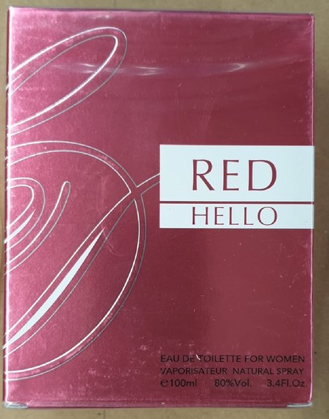 "Used Ladies ""RED HELLO"" perfume in Dubai, UAE"