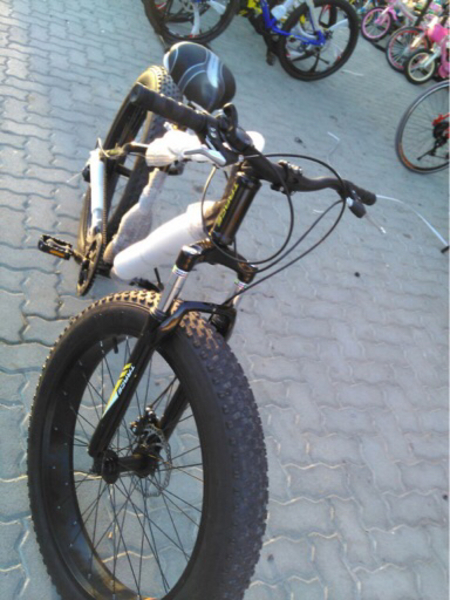 "Used New 26"" Fat Bike 🚲  in Dubai, UAE"