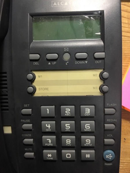 Used ALCATEL DESK/ LANDLINE PHONE in Dubai, UAE