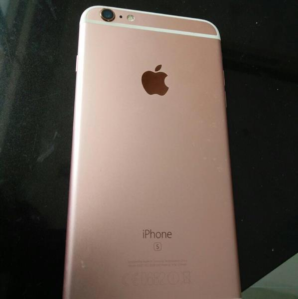 Used Iphone 6s Plus Rose Gold 64GB With Box & All Accessories in Dubai, UAE