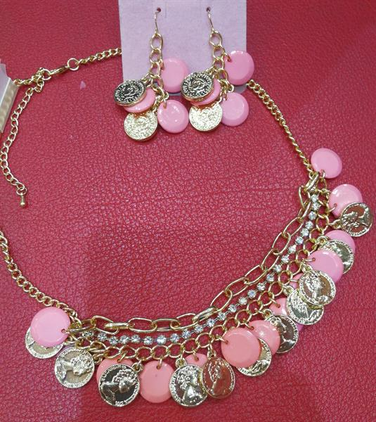 Used New Jewelry Set. Earrings And Necklace. in Dubai, UAE