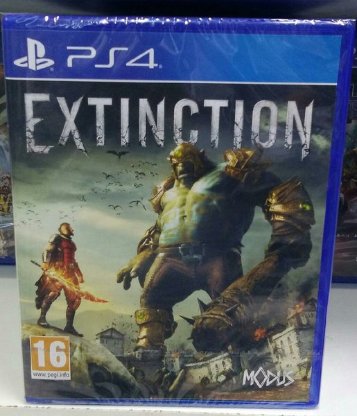 Used Ps4 game- EXTINCTION in Dubai, UAE