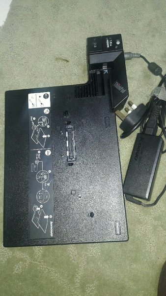 Used Lenovo ThinkPad docking station in Dubai, UAE