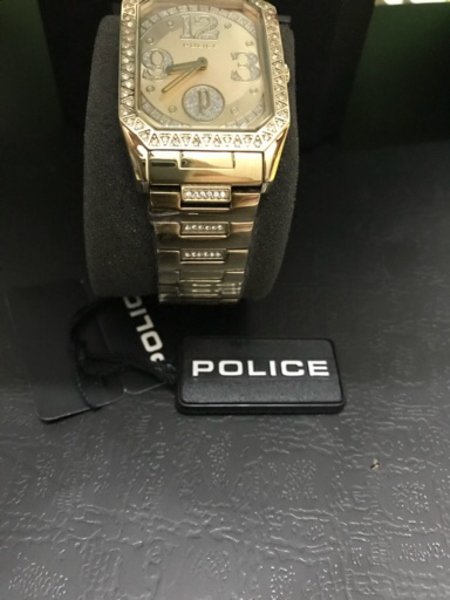 Used Brand new police watch with original box in Dubai, UAE