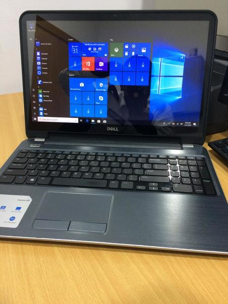 Used 1TB QUADCORE i7 8GB RAM TOUCH LAPTOP DEL in Dubai, UAE