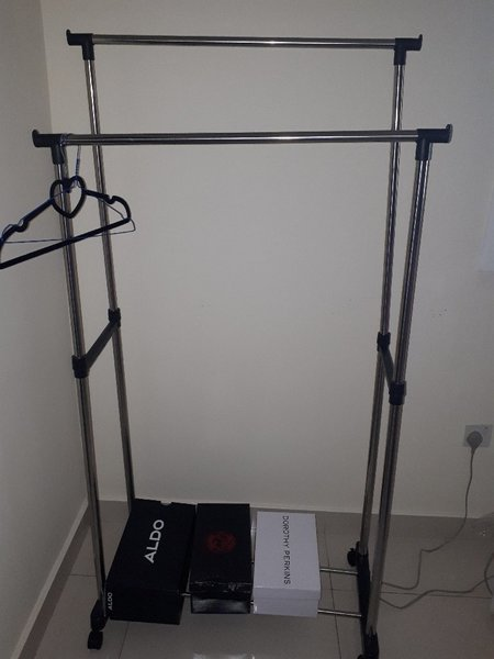 Used Iron and ironing table and cloth rack in Dubai, UAE