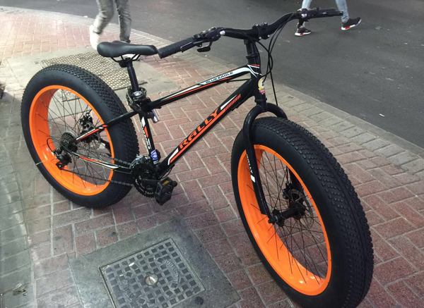 Used Fatbike -Sparingly used in Dubai, UAE