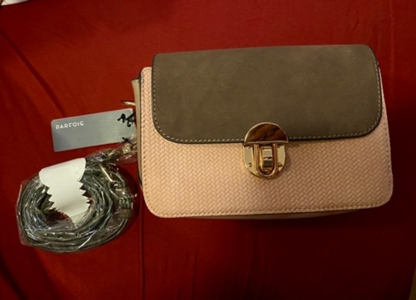 Used PARFOIS bag & wallet - new with tags/box in Dubai, UAE