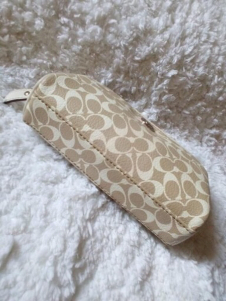 Used Authentic Coach Makeup Pouch in Dubai, UAE