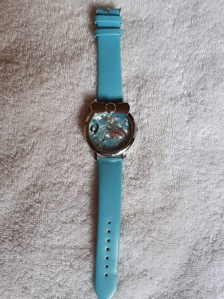 Used Watch hello kitty blue color in Dubai, UAE