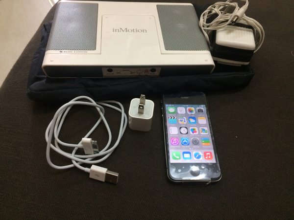 Used IPHONE4 With Spearker Dock in Dubai, UAE