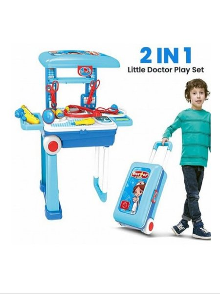Used 2 in 1 little doctor play set in Dubai, UAE