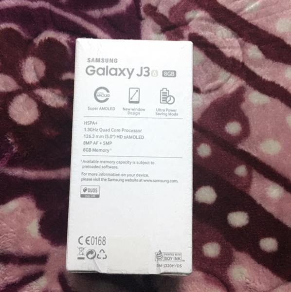 Used Sumsung Galaxy J3 6 8GB Buy From Souq.com 24 Months Warrenty Brand New Seel Pack  in Dubai, UAE