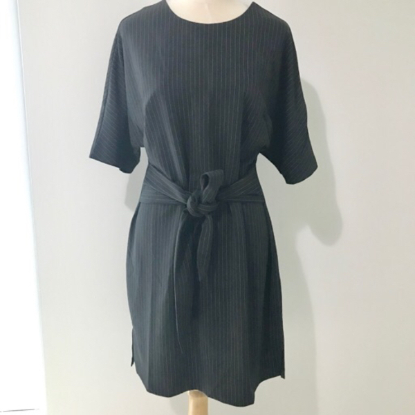 Used Pint Striped Kimono Sleeve Dress SMALL in Dubai, UAE