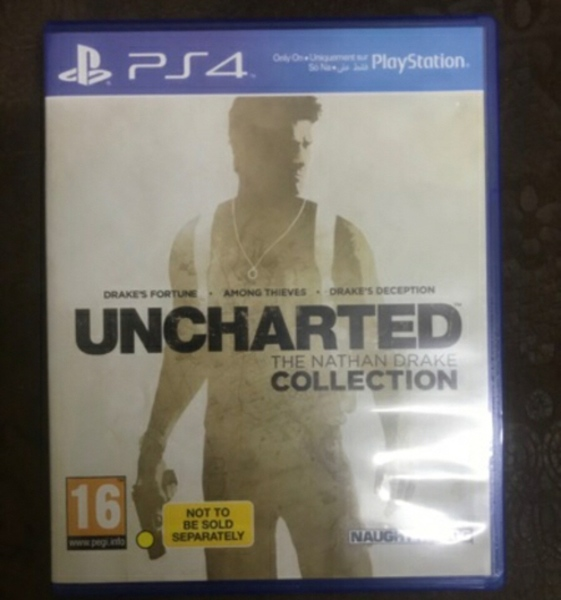 Used PS4 uncharted collection+ Bioshock coll in Dubai, UAE