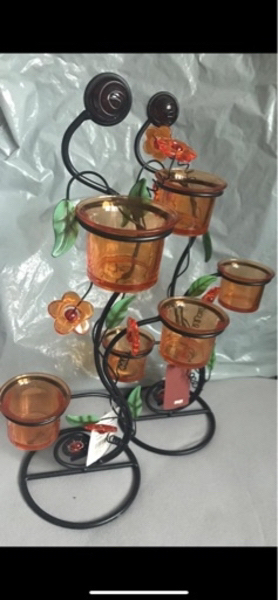 Used Candles holder new x2 in Dubai, UAE
