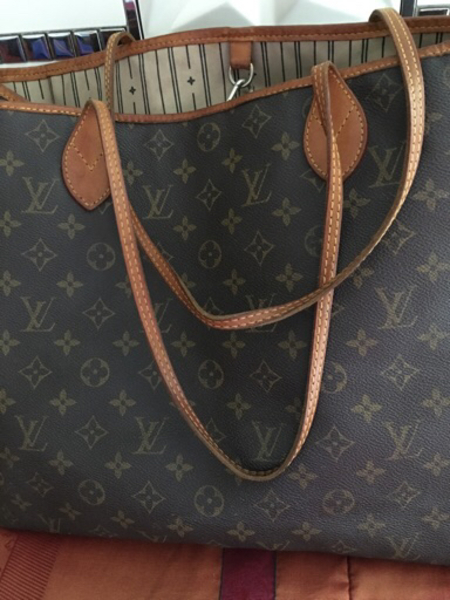 Used LV neverfull extra large bag in Dubai, UAE