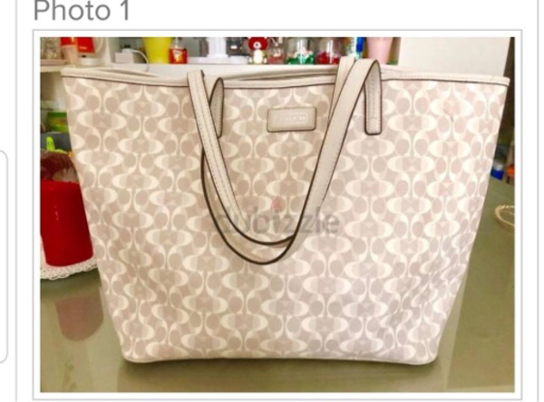 Used Coach Tote Bag Original in Dubai, UAE