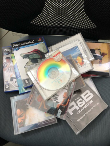 Used Mixed CDs and PS2 games in Dubai, UAE