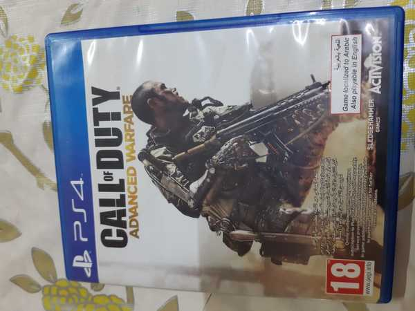 Used Call of duty advanced warfare ps4 in Dubai, UAE