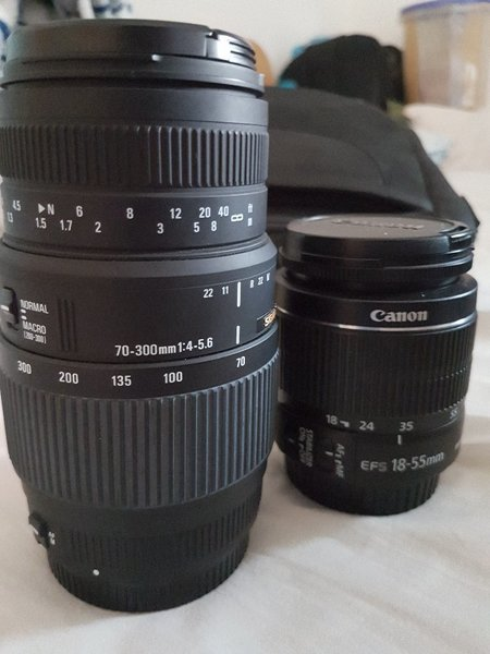 Used CANON 600D WITH 75-300MM in Dubai, UAE