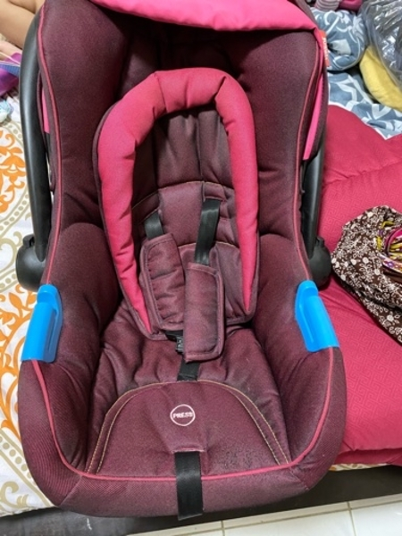Used Junior stroller for sale with baby chair in Dubai, UAE