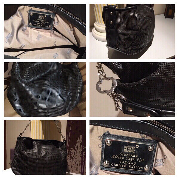 Used Montblanc STARISMA Alcina bag in Dubai, UAE