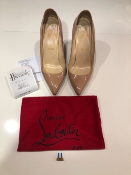 Used Christian Louboutin Pigalle 100 nude in Dubai, UAE