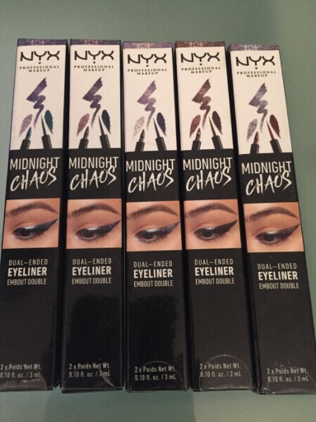 Used NYX Dual Ended Eyeliner (pack of 5 pcs) in Dubai, UAE