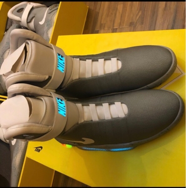 Used V3 Air mag back to the future Sneakers in Dubai, UAE