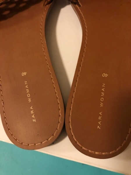 Used Zara sandals in Dubai, UAE
