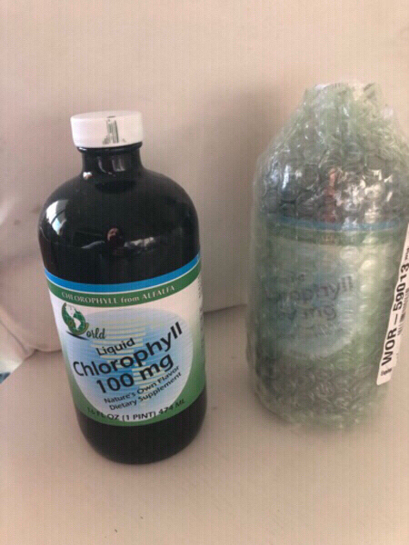 Used Natural Organic Liquid Chlorophyll 474ml in Dubai, UAE