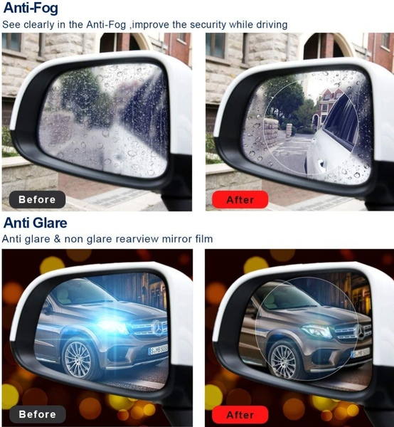 Used 2 pieces rear view mirror safety in Dubai, UAE